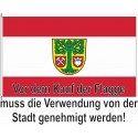 Landesflagge Hamburg.