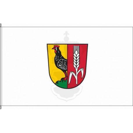 Fahne Flagge SW_Dittelbrunn (geführt)