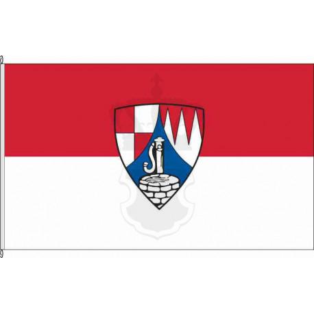 Fahne Flagge WÜ_Gerbrunn