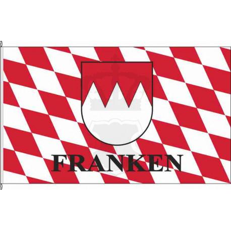 Fahne Flagge Mainfranken