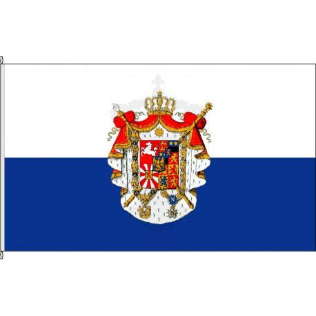 Fahne Flagge Kgr. Westfalen.