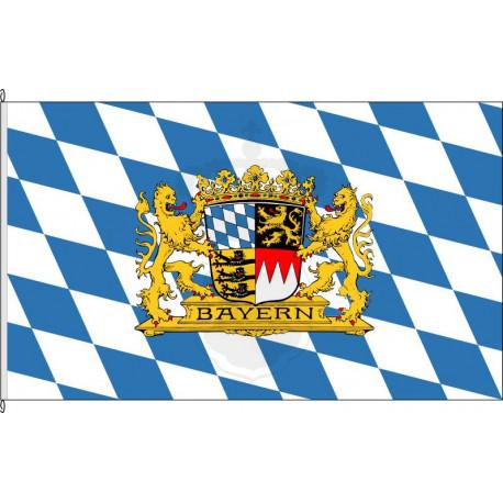 Fahne Flagge Bayern 1923.