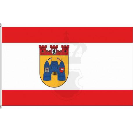 Fahne Flagge Charlottenburg historisch