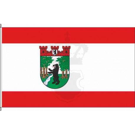 Fahne Flagge Treptow historisch