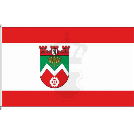 Fahne Flagge Marzahn historisch