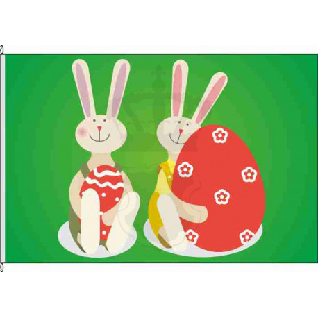 Fahne Flagge Ostern
