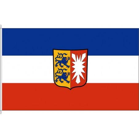 SH-Landesdienstflagge Schleswig-Holstein.
