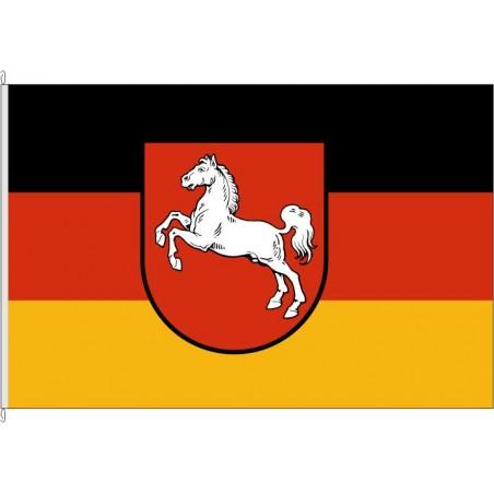NI-Landesflagge Niedersachsen.