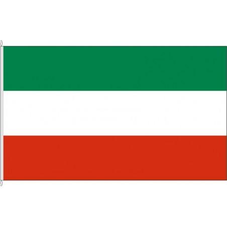 NW-Landesflagge Nordrhein-Westfalen.