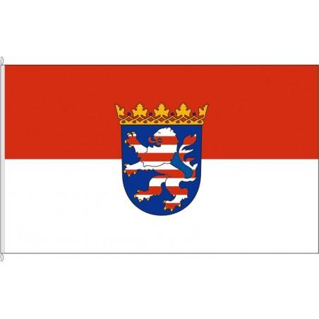 HE-Landesdienstflagge Hessen.