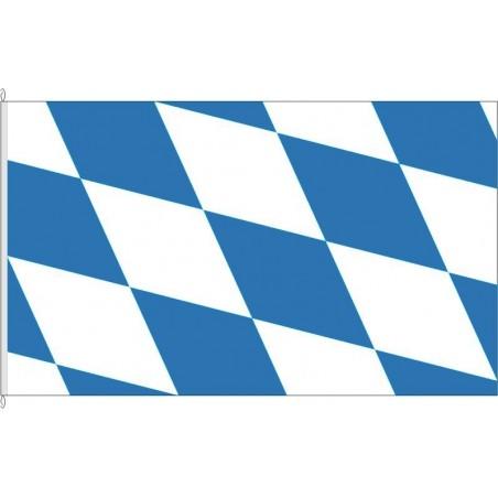 BY-Landesflagge Bayern.
