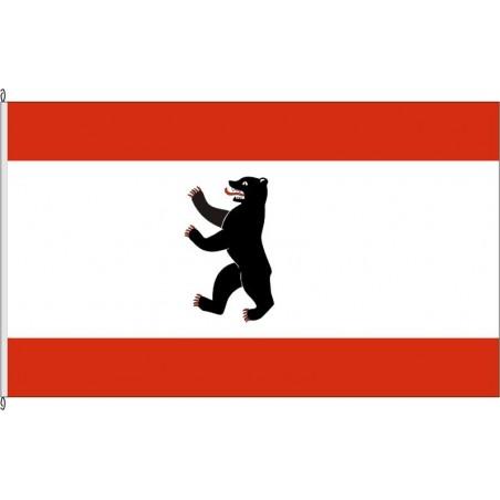 BE-Landesflagge Berlin.