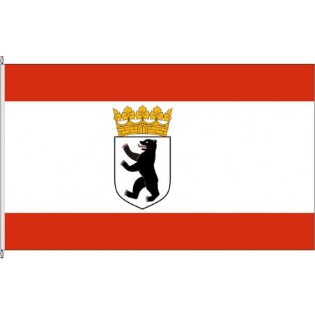 BE-Berlin, historische Dienstflagge