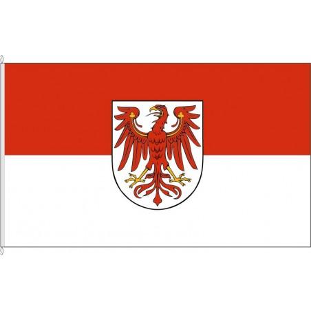 BR-Landesflagge Brandenburg.
