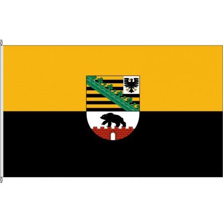 ST-Landesdienstflagge Sachsen-Anhalt.