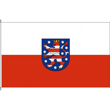 TH-Landesdienstflagge Thüringen.