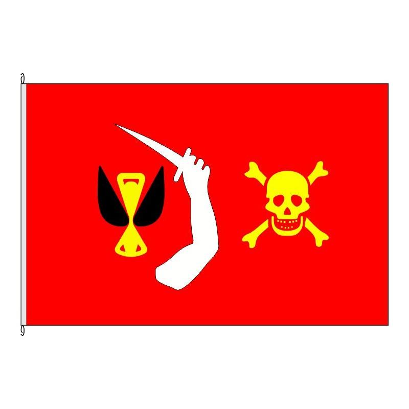 Fahne Flagge So-Pirat Moody
