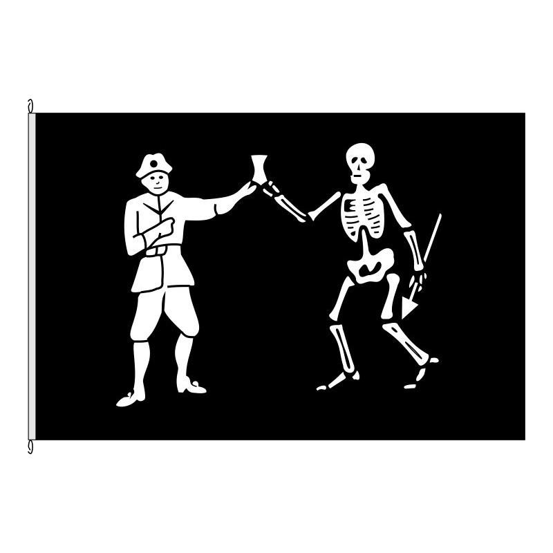 Fahne Flagge So-Pirat Roberts