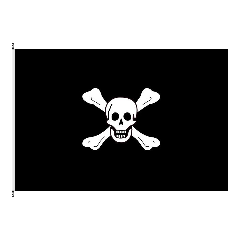 Fahne Flagge So-Pirat Worley