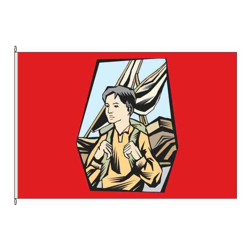 Fahne Flagge So-Kind auf Reise