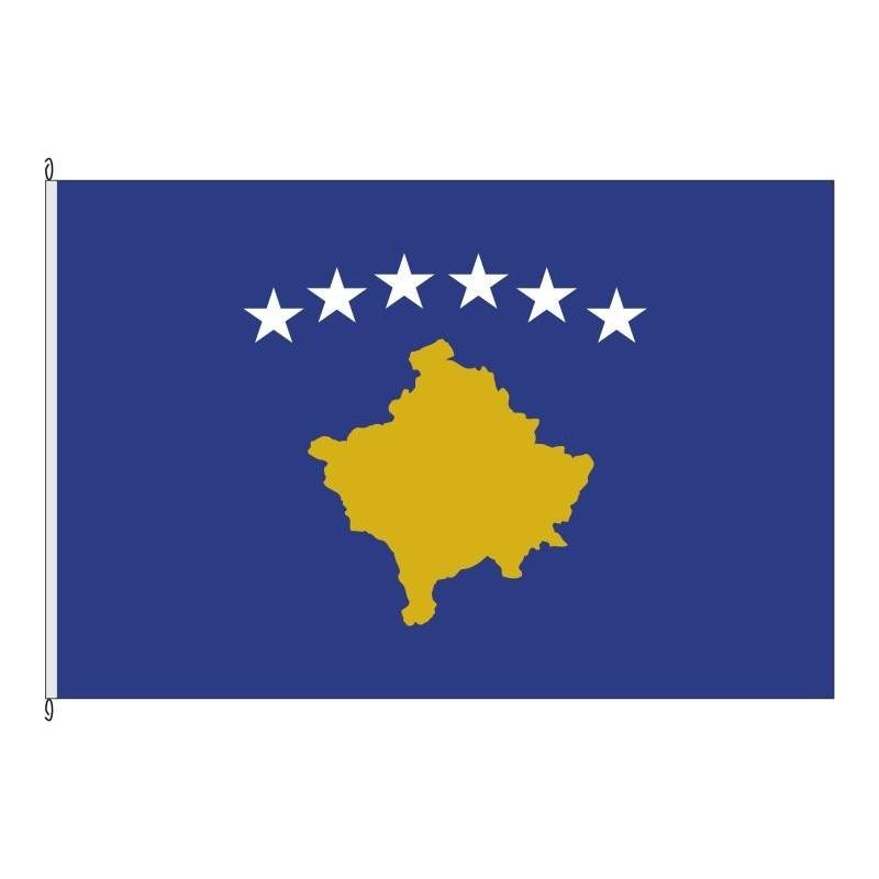 Fahne Kosovo Hissflagge 60 x 90 cm Flagge