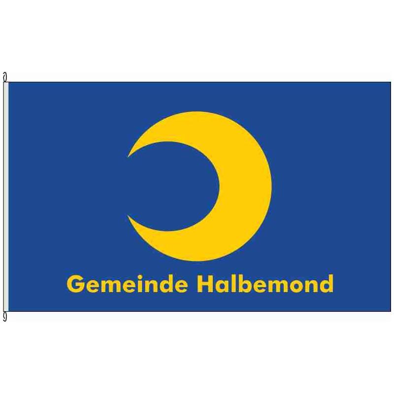 Fahne Flagge AUR-Halbemond *