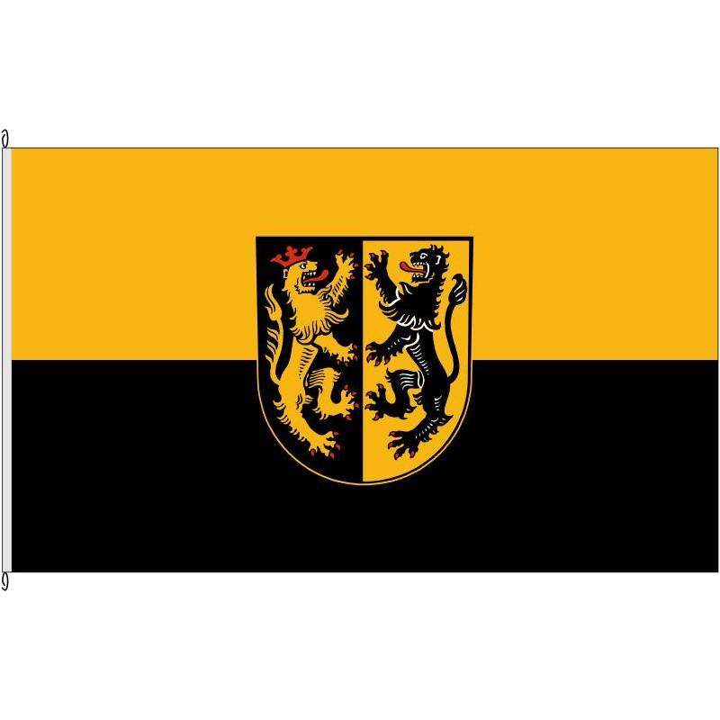 Fahne Flagge MÜ-Landkreis Mühldorf a.Inn