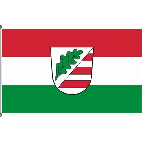 Fahne Flagge PA-Aicha vorm Wald