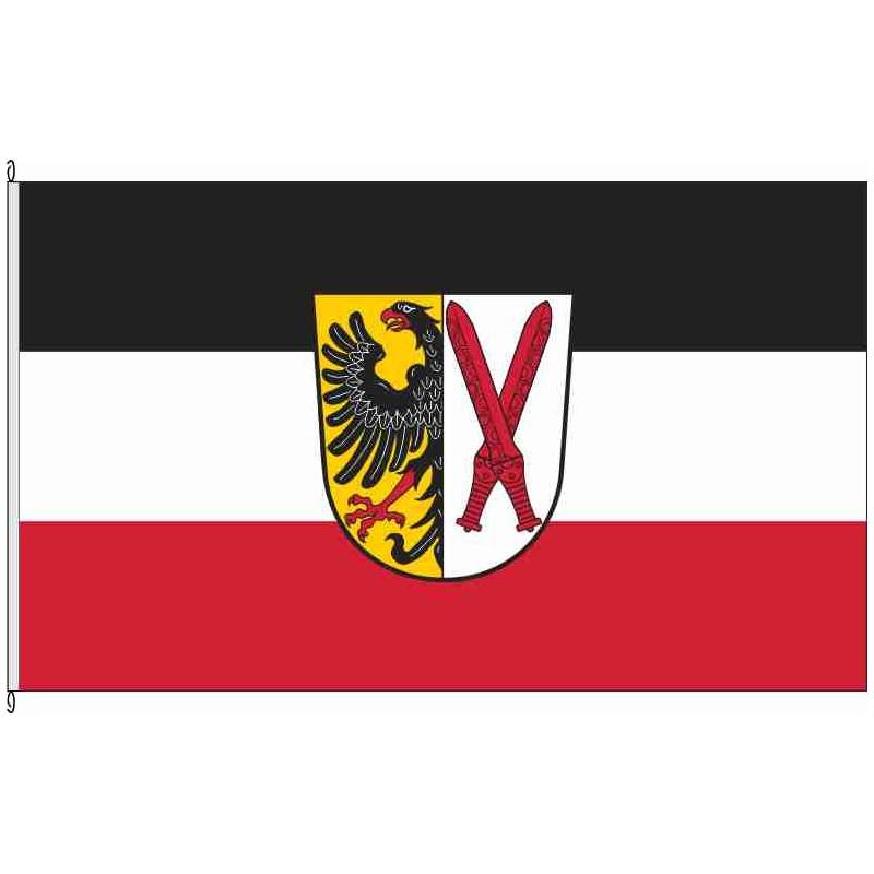 Fahne Flagge AN-Sachsen b.Ansbach