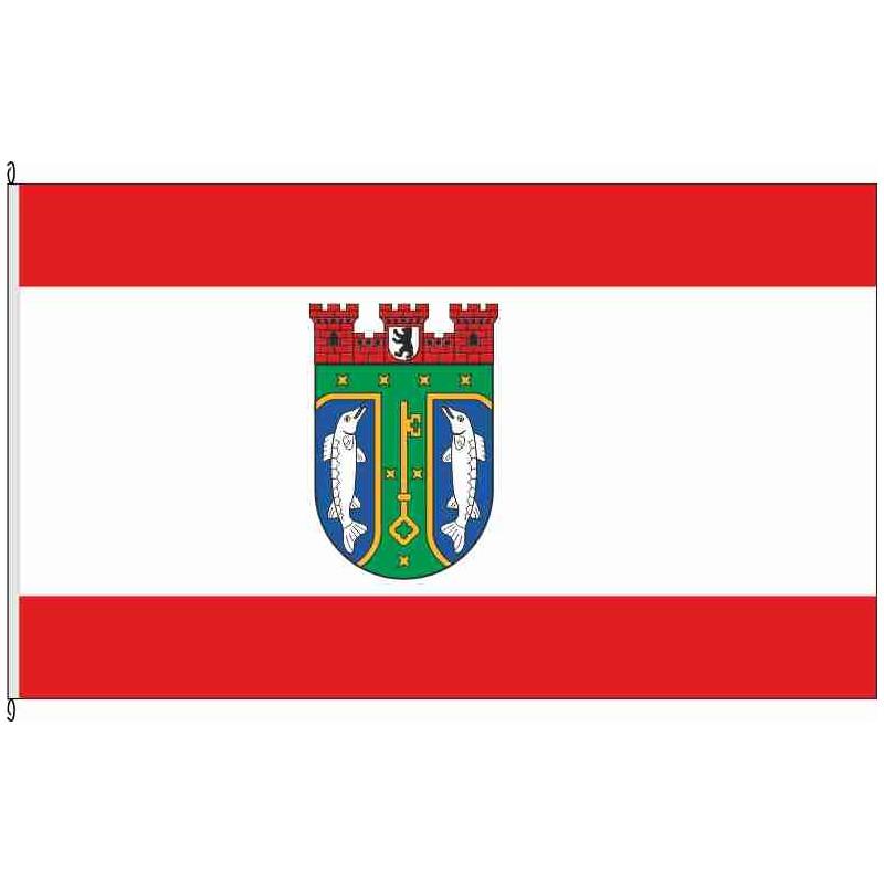 Fahne Flagge Berlin Treptow-Köpenick 90 x 150 cm