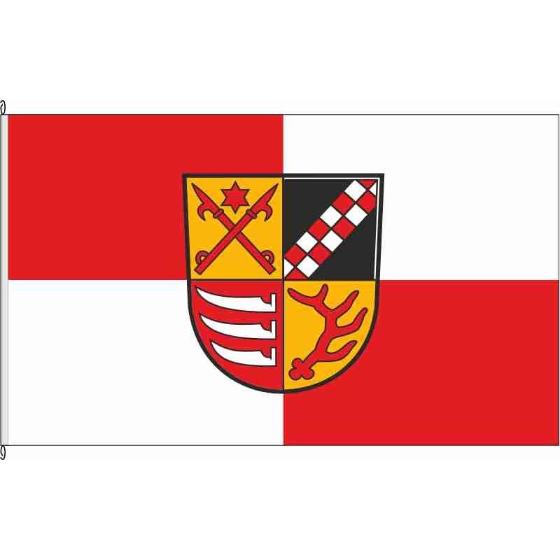 Fahne Flagge LOS-Landkreis Oder-Spree