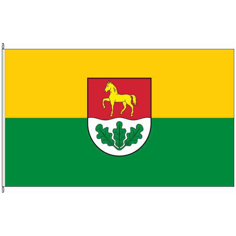Fahne Flagge LWL-Landkreis Ludwigslust historisch