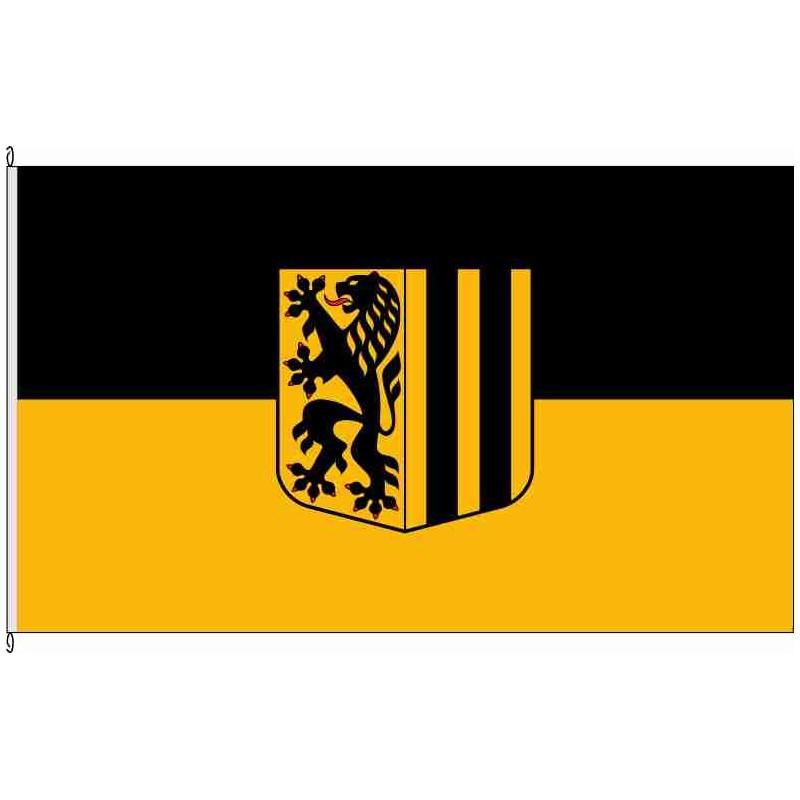 Fahne Flagge DD-Dresden